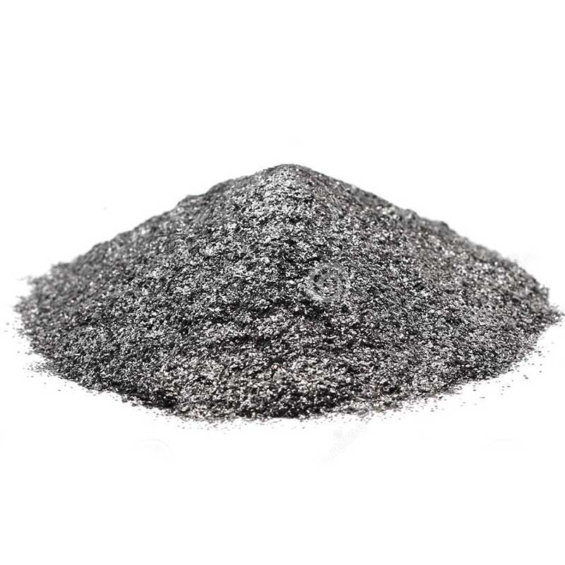 Graphite Grey Text Polyester Powder